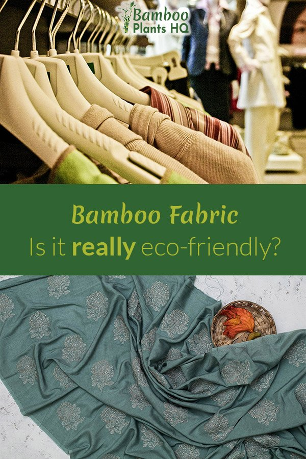 Everyone is talking about bamboo fabric for eco-fashion. Is it really as environmentally friendly as advertised? We took a closer look: Learn about the results here! #bamboo #ecofashion #ecofriendly #greenfashion