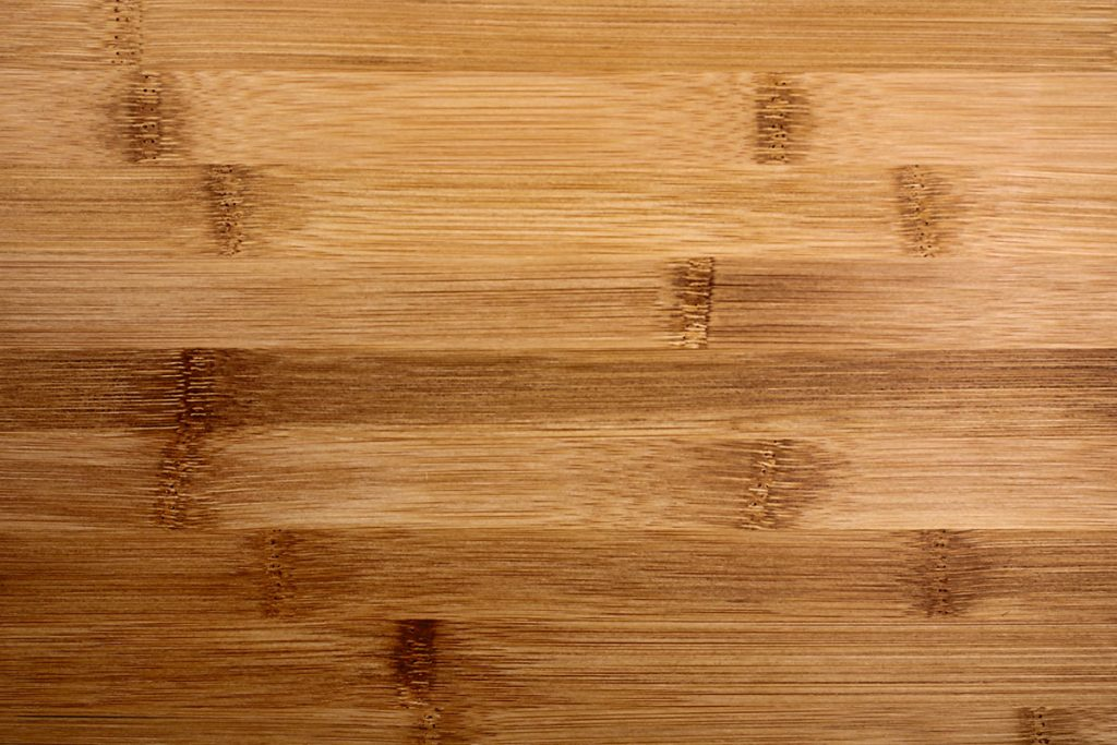 Bamboo flooring close-up